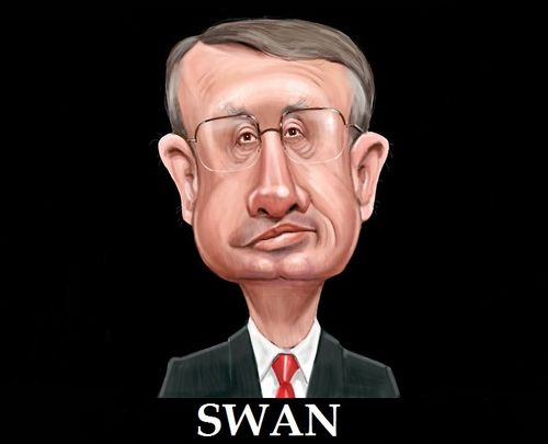 Swan hes your man