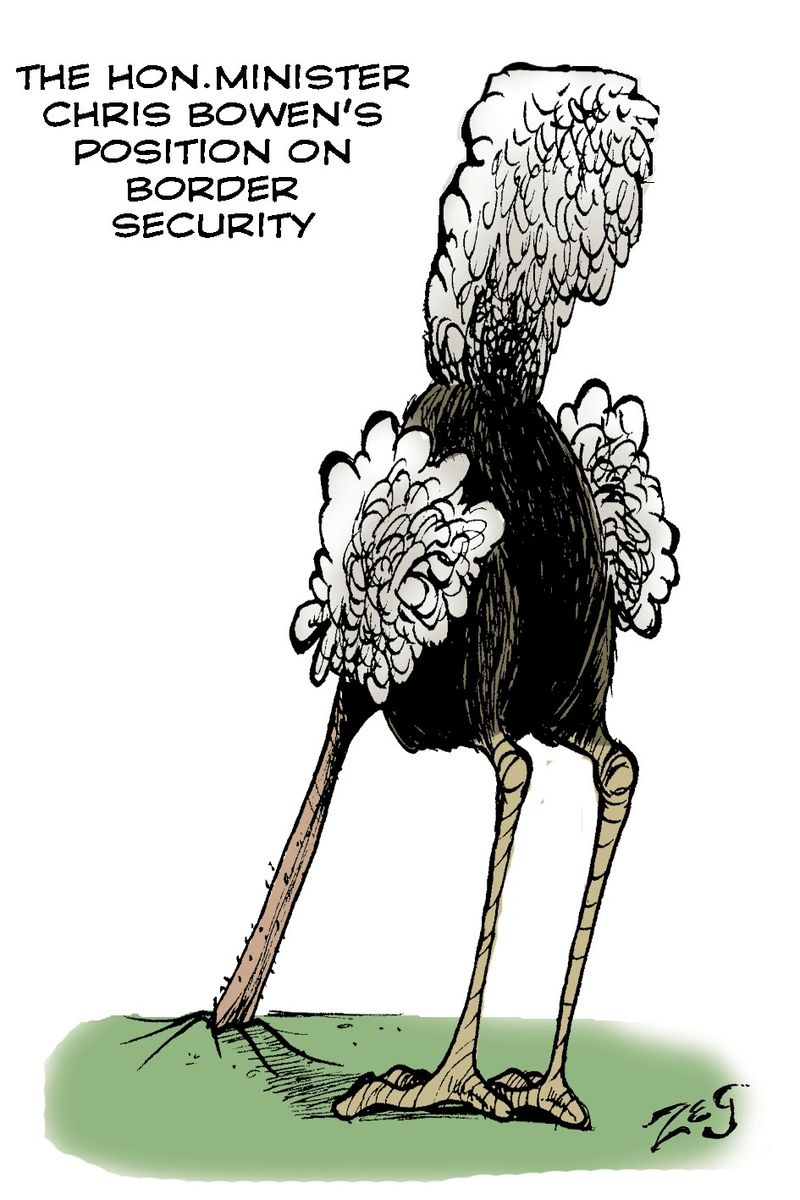 THE-OSTRICH-FOR-IMMIGRATION
