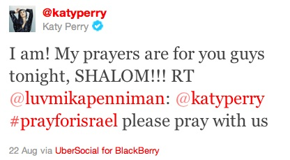 Katyperry tweet